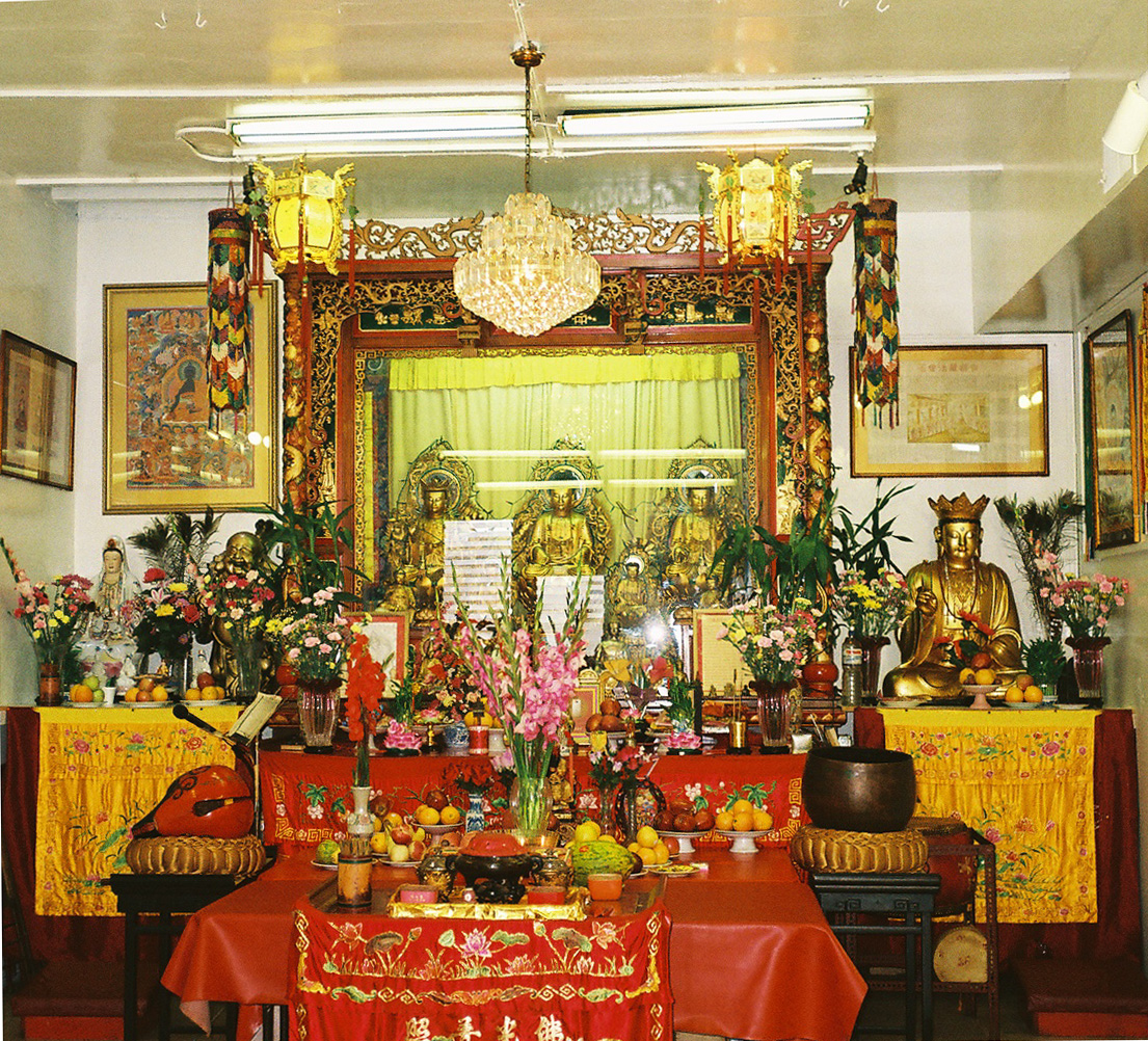 Buddist Temple, Chinatown