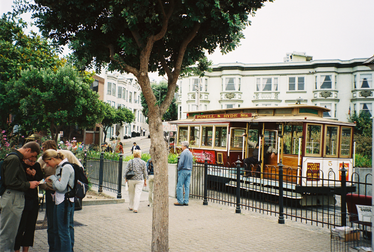 Powell and Hyde Cable Car